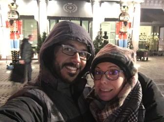 con el hotel D'Angleterre